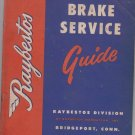 Raybestos Brake Service Guide (1955)