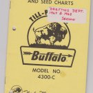 assembly & operation seed charts for buffalo model no 4300-c till planter fleischer mfg inc