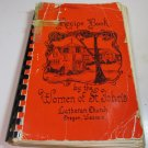 Recipe Book St Johns :Lutheran Church Oregon Wisconsin 1966