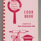 Custer County Nebraska Cook Book Home Demonstration Club 1961 1965 third printing