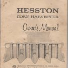 hesston corn harvester owners manual model 1959
