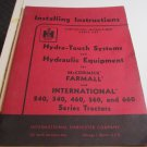 Hydra Touch Systems & Hydraulic Equipment for Farmall International 240 340 460 560 660 Tractors