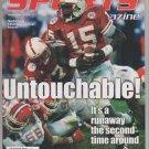Nebraska Sports Magazine Untouchable Tommy Frazier Cover January 1996