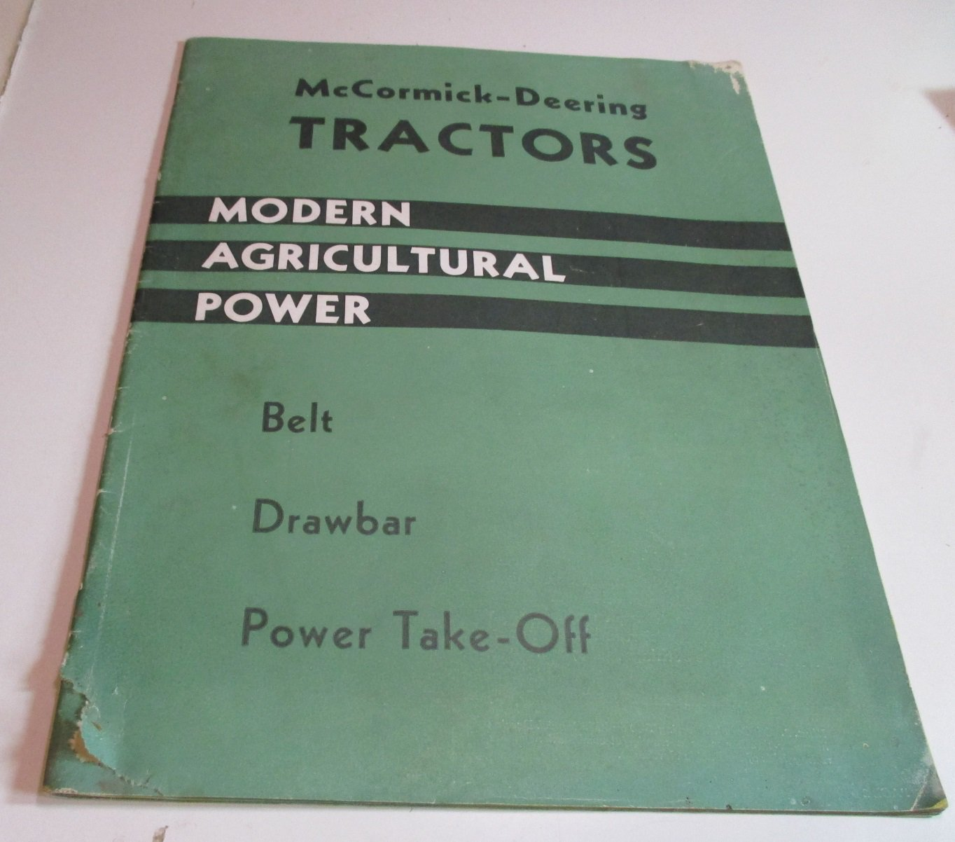 IH mccormick deering tractors modern agricultural power belt-drawbar-power take off