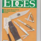 edges knives collectible guide october november 1990