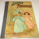 vintage little runaways w.b conkey company children's book