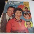 1956 TV Radio Mirror Mag CROSBY DEBBIE REYNOLDS EDDIE FISHER MARRIAGE PICTURES RICKY NELSON FAM
