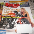 HOT ROD BIKES Magazine January 1999 Hollister 98- Harley Heritage Conversion