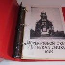 1969 Upper Pigeon Creek Lutheran Cookbook Hixton Wisconsin