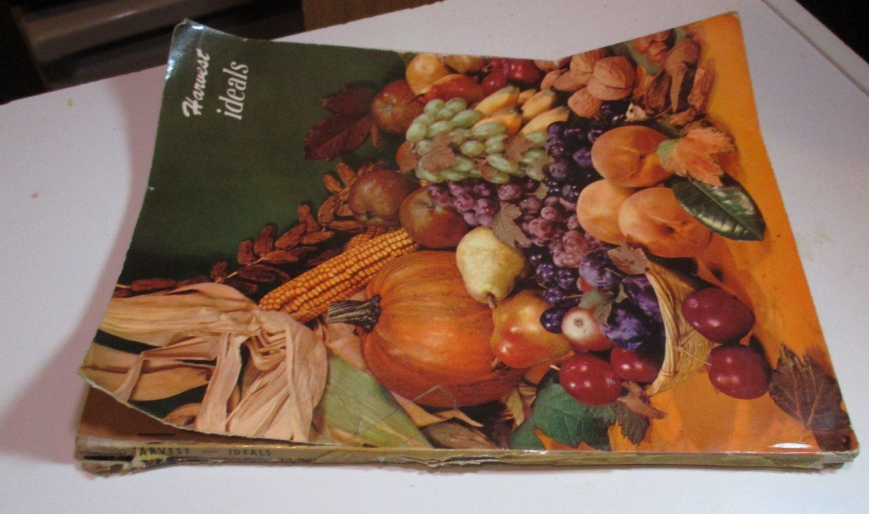 HARVEST ISSUE IDEALS THanksgiving magazine Oct 1951
