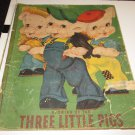 Vintage Stories of the Three Little Pigs Published by Samuel Lowe Company, 1942