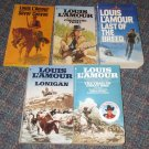 Lot of (5) Louis L'Amour Paperbacks Western