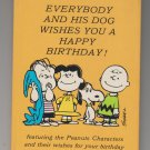 Peanuts Everybody And His Dog Wishes You A Happy Birthday Book Ambassador Friendship Library