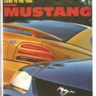 Road & Track Ford Mustang Magazine Special Series: Guide to the 1994 Issue