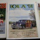 (3) Iola magazines Directory to car show * swap meet in Iola Wisconsin