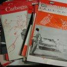 HUGE LOT (34) Holley Carburetor Carbogram Magazine