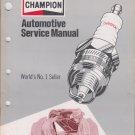 Champion automotive service manual 1974 No 7K