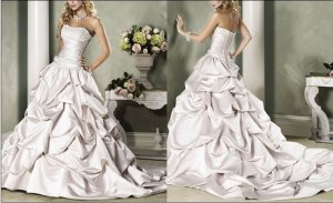 Hot sale 2010latest wedding dress XM039