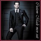 free shipping-- Professional Tailored and pure handmade man suit