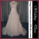Real sample-free shipping wedding dress XMA027