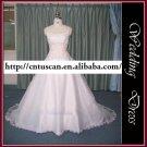 Real sample-free shipping wedding dress XMA028