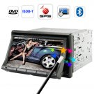 Carnaval 7 Inch Touchscreen Car DVD Player with GPS and ISDB-T