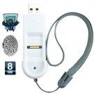 USB Fingerprint Security Lock Flash Disk (8GB)