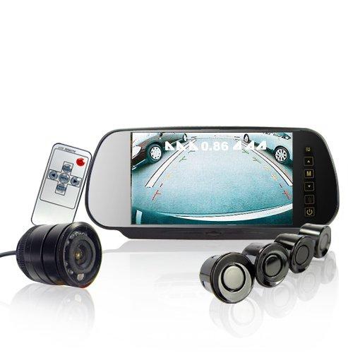 Car Reversing Set - Sensors + Rearview Camera + Rearview Screen