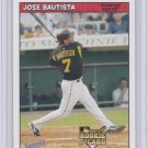 2006 Bazooka JOSE BAUTISTA Rookie VAR Card/RC~'06~2002