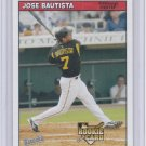 2006 Bazooka JOSE BAUTISTA Rookie Card/RC~06~2002~02~01