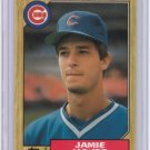 1987 Topps Tiffany JAMIE MOYER Rookie Card/RC~'87~1986