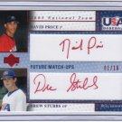 2005_DAVID PRICE~DREW STUBBS Rookie Auto Card/RC~2007