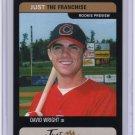 2002 Just_Black DAVID WRIGHT Rookie Card/RC~'02~2001~01
