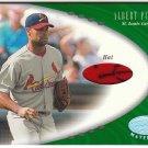 2001 Leaf_ALBERT PUJOLS Rookie JSY Card/RC~'01~Auto/AU