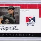 2007 TriStar_DAVID PRICE Rookie Card/RC~07~2009~09~2008