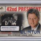 2008 SP_Cuts_BILL CLINTON Card~1/1~08~PRESIDENT~HILLARY