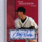 2006_JEREMY HELLICKSON Rookie Auto Card/RC~1/1~'06~2011