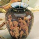 25607 Children In The Garden Vase