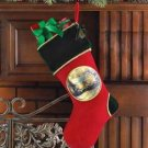 39296 Thomas Kinkade Velvet Christmas Stocking