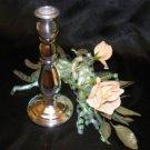 1011 Silver Avon Candlestick Decanter