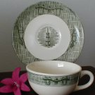 2373 Scio Currier & Ives Cup/Saucer Set