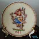 Goebel Annual Apple Tree Girl 1976 Hummel Plate-2471