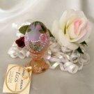 1469 Fenton H P Roses Champagne Egg