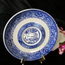 1054 Vintage Scio Blue Willow Saucer