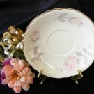Homer Laughlin Pastel Rose Saucer 2513