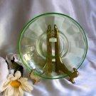 1401 Vintage Federal Glass Hostess Saucer