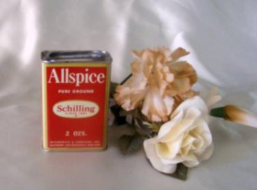 Schilling Allspice Spice Tin 3698