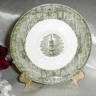 2390 Scio Pottery Currier and Ives Saucer