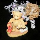 3649 Jacob Cherished Teddies Bear Wishing For Love