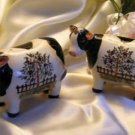 39172 Country Cow Salt Pepper Set
